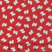 Naptime 3 - Dogs Red Yardage