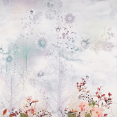 Reverie - Dreamscape Multi Single Border Digitally Printed Yardage