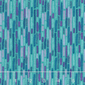 Night Riviera - Bricks Teal Yardage