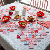Missouri Star Love Letters ZigZag Place Mat & Napkins Kit