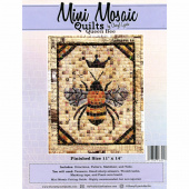 Mini Mosaic Quilts Queen Bee Pattern