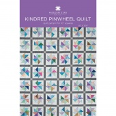Kindred Pinwheels Quilt Pattern by Missouri Star