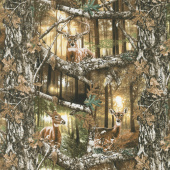 Realtree - Daybreak Edge Animals Multi Yardage