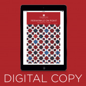 Digital Download - Periwinkle on Point Quilt Pattern by Missouri Star