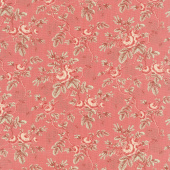 La Rose Rouge - Rosina Faded Red Yardage