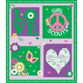 Girl Scouts - Girl Scouts Green Panel
