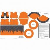 Eek Boo Shriek - Shriek Color Orange Panel