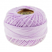 Presencia Perle Cotton Thread Size 8 Light Lavender