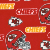 NFL Fleece - Kansas City Chiefs Red Yardage