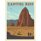 National Parks - Capitol Reef National Park Panel