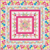 Bloom True Bed Quilt Kit