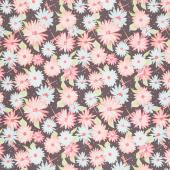 Paper Daisies - Main Gray Yardage