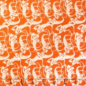 Trick or Treat - Treat Ghosts Orange Yardage