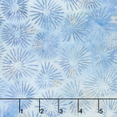 Artisan Batiks - Northwoods 7 Pine Needles Ice Metallic Yardage