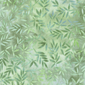 """Wilmington Essentials - Mottled Leaves Green 108"""" Wide Backing"""