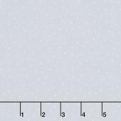 "Kimberbell - Tiny Dots Grey 108"" Wide Backing"