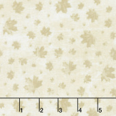 Canadian Classics - Maple Leaves Cream Yardage