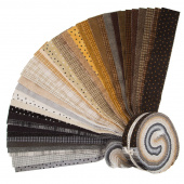 "Woolies Flannel Neutral 2.5"" Strips"