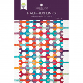 Half-Hexi Links Quilt Pattern by Missouri Star
