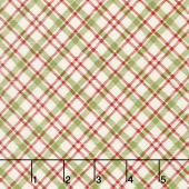 Overnight Delivery - Plaid Red Green Yardage
