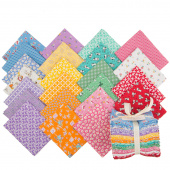 Aunt Grace Baskets of Scraps Fat Quarter Bundle