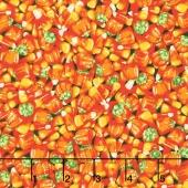 Spooky Snacks - Candy Carnival Pumpkin Yardage