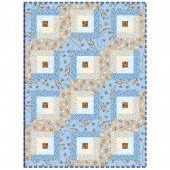 Cozy Cabin Log Cabin Quilt POD™ Kit