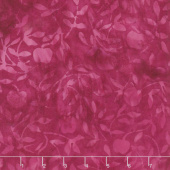 Petal Pushers Batiks - Cherries Pomegranate Yardage