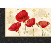 Scarlet Dance Place Mat Kit