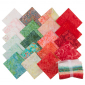 Tonga Treats Batiks - Poppy Fat Quarter Bundle