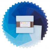 Kona Cotton - Waterfall Palette Charm Pack