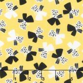 Sunny Days - Butterflies Yellow Yardage