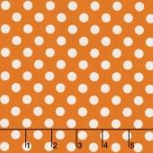 Kimberbell Basics - Dots Orange Yardage
