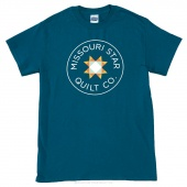 Missouri Star Medium T-Shirt - Galapagos Blue