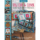 Sew Cute & Clever Farm & Forest Friends Book