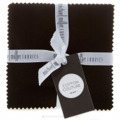 Cotton Couture Black Charm Pack
