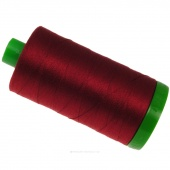 Aurifil 40 WT 100% Cotton Mako Large Spool Thread - Red Wine