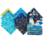 All Systems Glow Glow in the Dark Fat Quarter Bundle