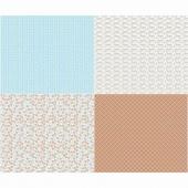 Sew Cherry 2 - Fat Quarter Aqua Panel