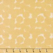 Sorbet - Circles Yellow Yardage