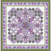 Amethyst Magic Bed Quilt Kit