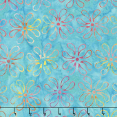 Salt Water Taffy Batiks - Petals Twist Yardage