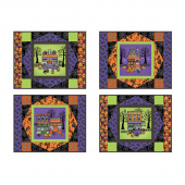 Spooky Town Place Mats Kit