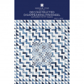 Deconstructed Disappearing Pinwheel Quilt Pattern by Missouri Star