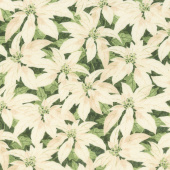 Festive Forest - Poinsettia Green Yardage