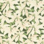 Festive Forest - Poinsettia Green Yardage