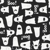 Fright Night - Boo Black Yardage