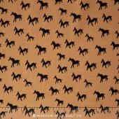 World Piece - South America Llama Tan Yardage