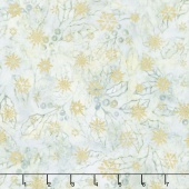 Artisan Batiks - Northwoods 6 Holly Sprigs Winter Metallic Yardage