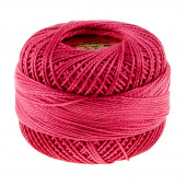 Presencia Perle Cotton Thread Size 8 Very Dark Cyclamen Pink